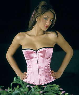 Axfords overbust Satin Corset