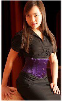 Waist Clincher underbust corset
