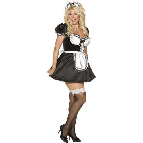 Envy Plus Size Maids Outfit