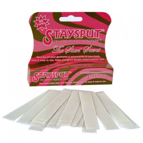 Staysput Adhesive Body Tape - pack of 40 strips