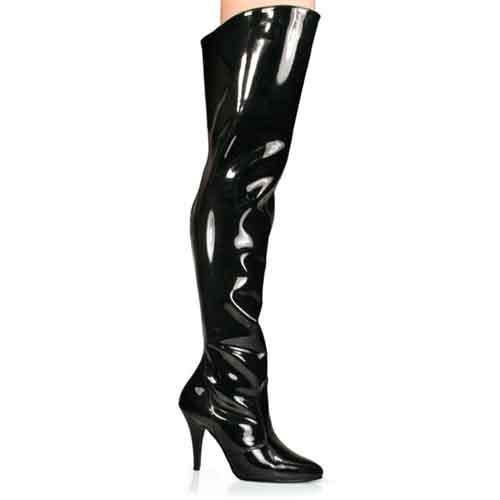 Vanity 3010 4 inch Stiletto Heel Thigh Boot