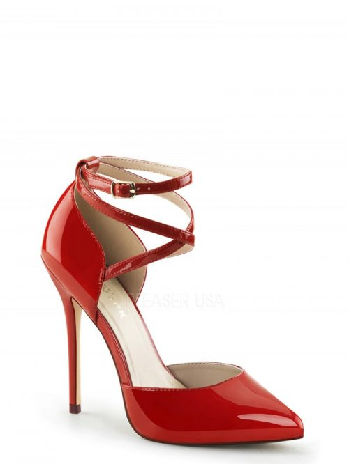 "Amuse 25 Strappy Stiletto with 5"" Heel"