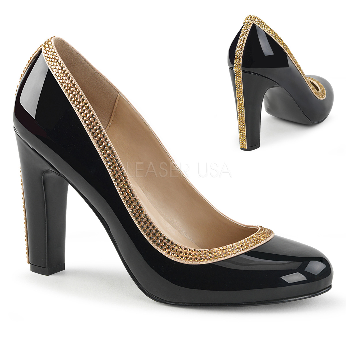Queen 04 Round Toed Shoes