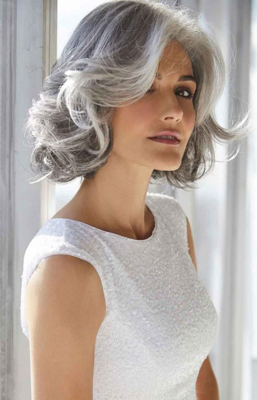 amal wig view from side