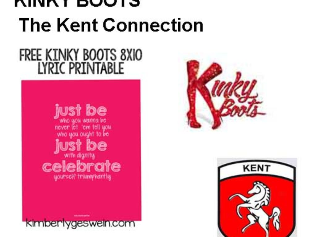 Introducing The Kinky Boots Exhibition The Kent Connection
