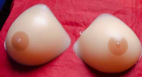 realistic breast forms