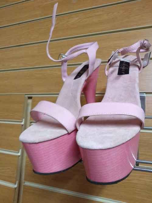 7 inch platform sandals