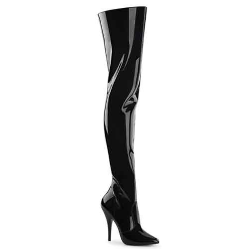 seduce-3010 5 inch thigh boots