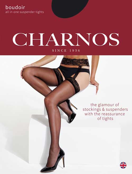 Charnos Scantihose Lace Suspender Tights