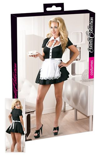 Waitress Black mini dress uniform