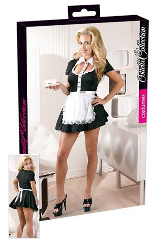 Waitress Black mini dress uniform